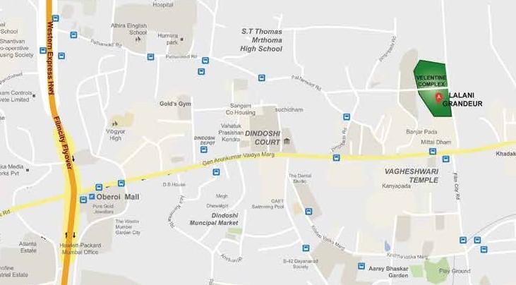 lalani map